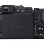 Nikon Coolpix P7800 - Rear With LCD Closed