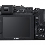 Nikon Coolpix P7800 - Rear View With LCD & New Electronic Viewfinder