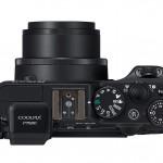 Nikon Coolpix P7800 - Top View