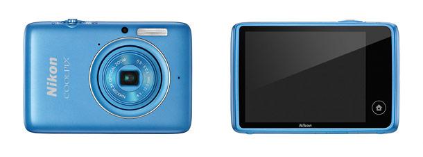 Nikon Coolpix S02 - Front & Back