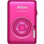 Nikon Coolpix S02 - Pink - Front