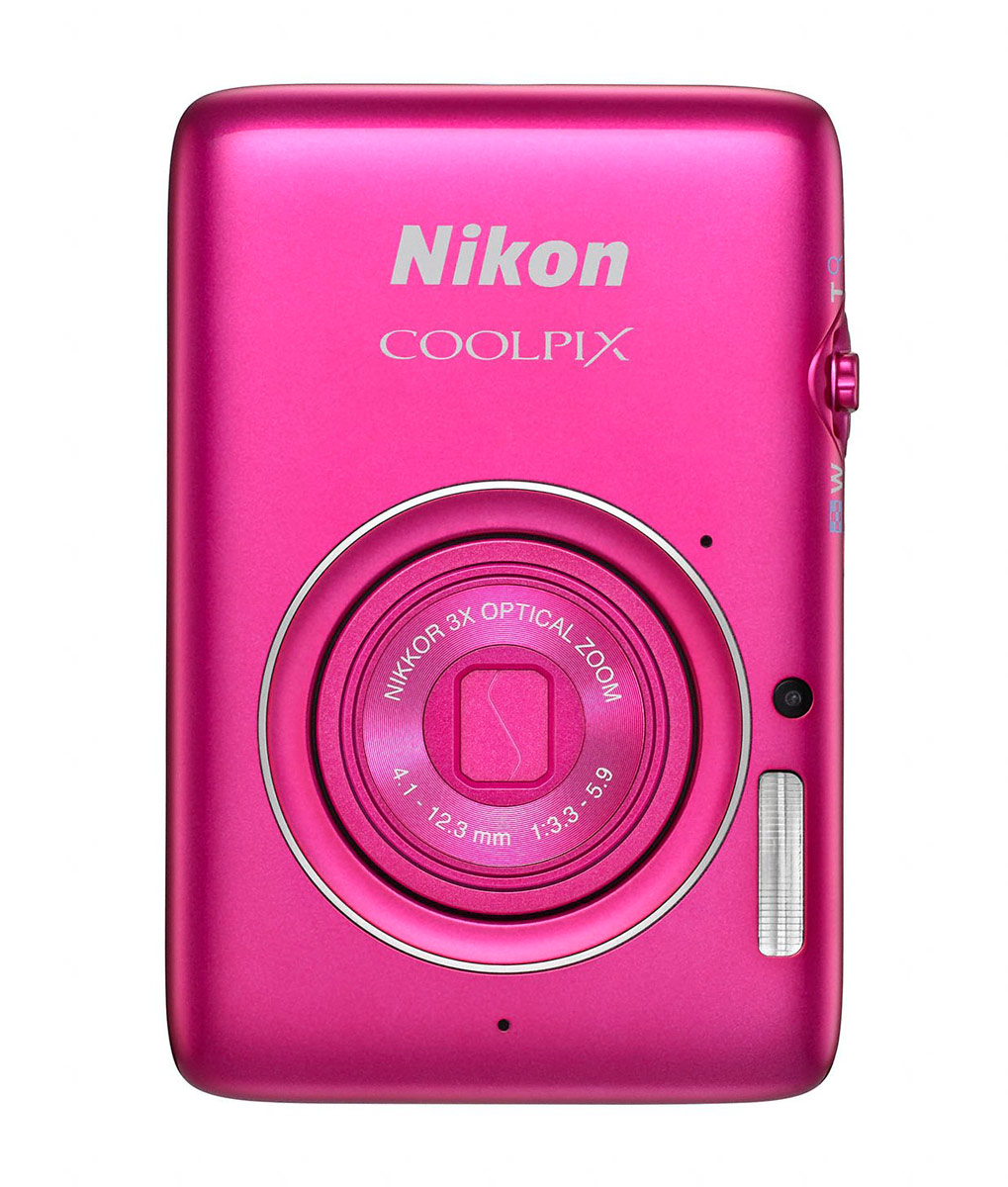 Nikon Coolpix S02 - Pink - Front