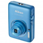 Nikon Coolpix S02 - Vertical - Blue