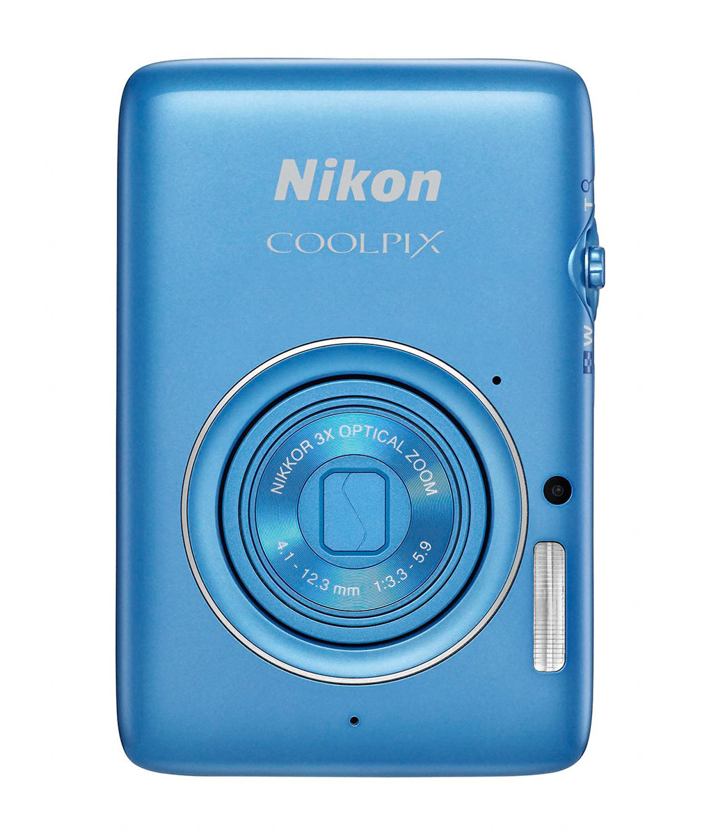 Nikon Coolpix S02 - Front - Blue