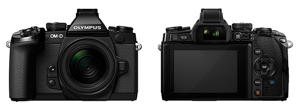 Olympus OM-D E-M1 - Front & Back