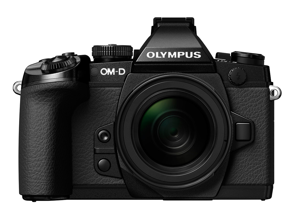 Olympus OM-D E-M1 - Front View