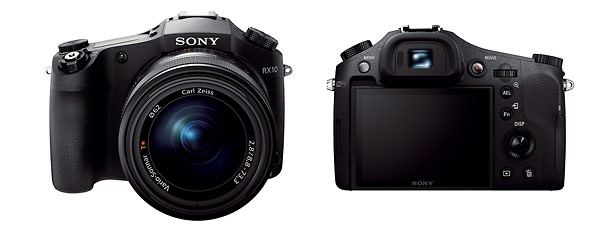 Sony Cybershot RX10 - Front & Back