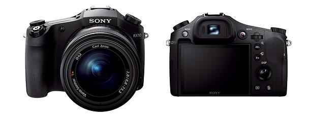 Sony Cybershot RX10 - Front & Back