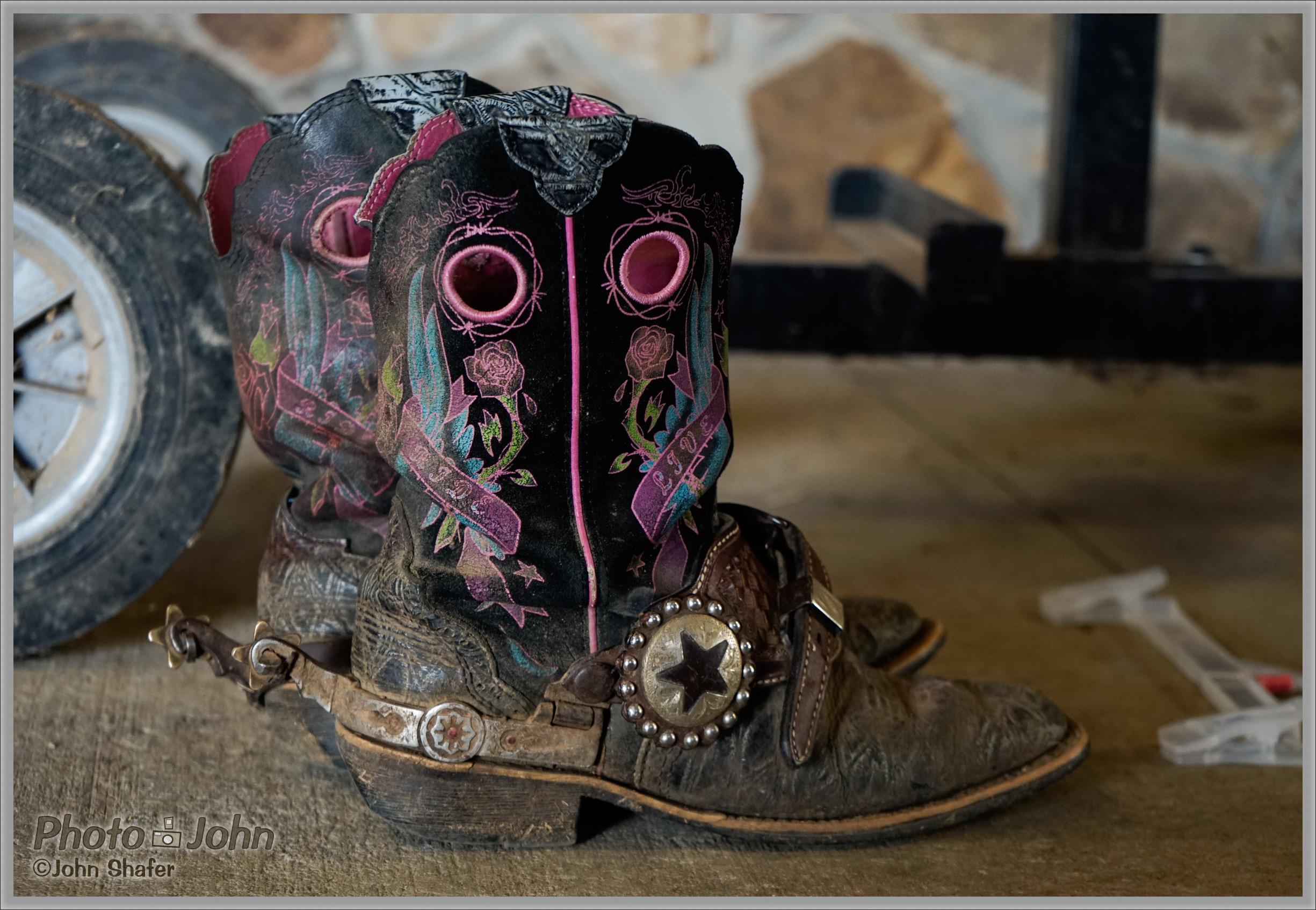 Sony Alpha A7 - Cowboy Boots
