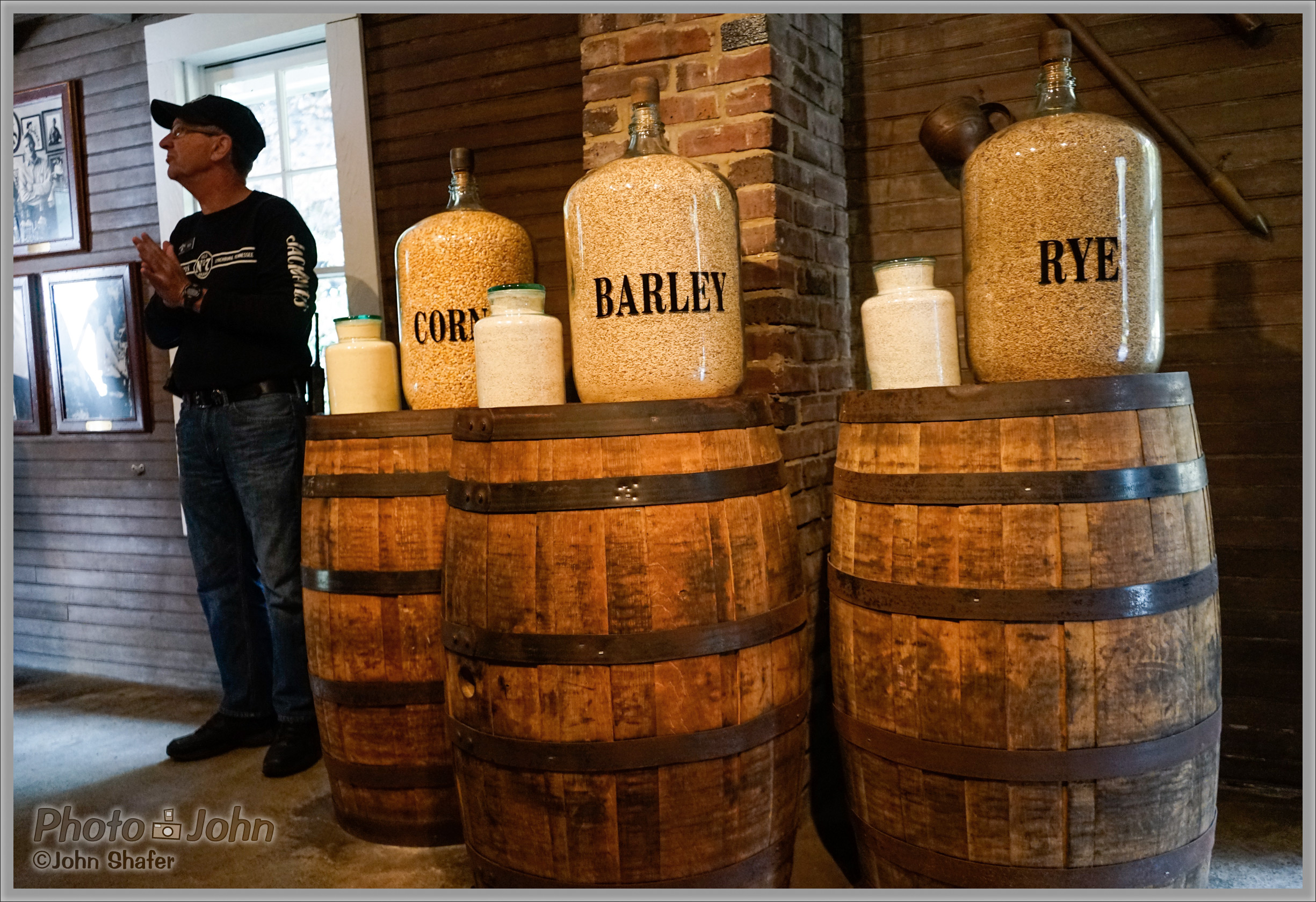 Sony Alpha A7 - Grains & Barrels at ISO 3200 - Jack Daniels Distillery