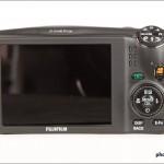 Fujifilm FinePix F900EXR - Rear View