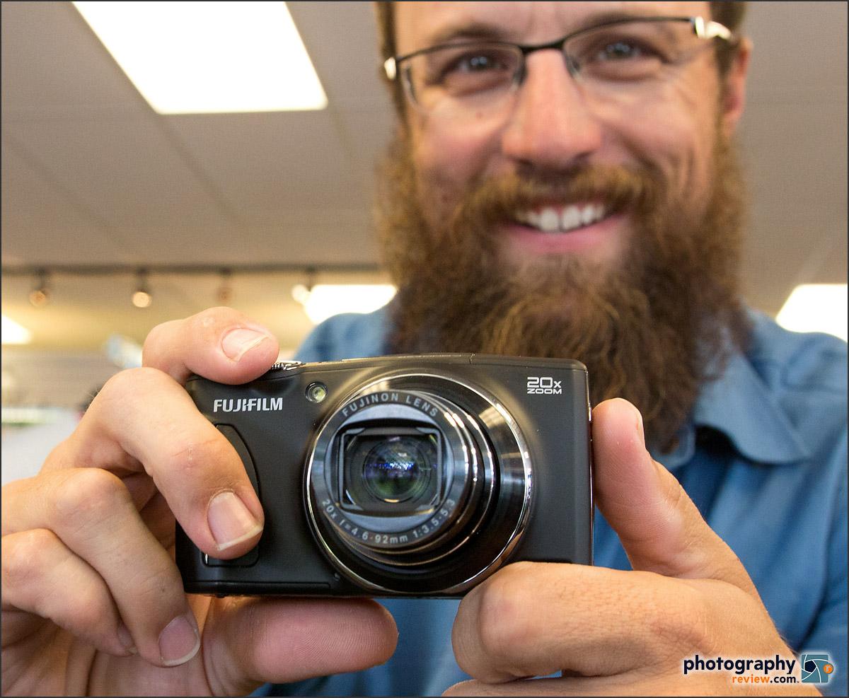 Grizzly Adam & His Fujifilm FinePix F900EXR Camera