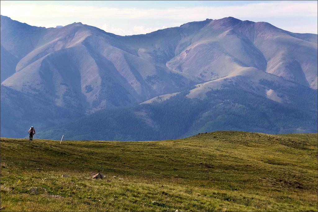 Fujifilm FinePix F900EXR - Tiny Rider - Colorado Trail