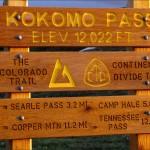 Fujifilm FinePix F900EXR - Kokomo Pass Sign