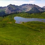 Fujifilm FinePix F900EXR - High Alpine Lake - Colorado Trail