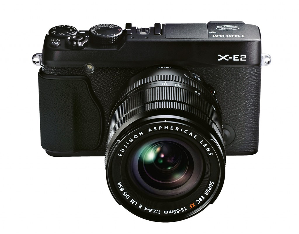 Fujifilm X-E2 Mirrorless Camera - All Black