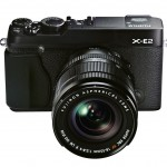 Fujifilm X-E2 Mirrorless Camera - All Black