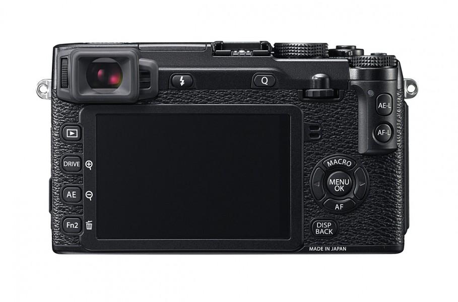 Fujifilm X-E2 - Rear View