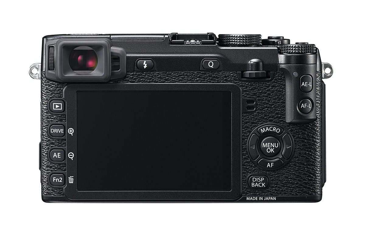 Fujifilm X-E2 - Rear View