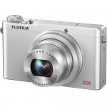 Fujifilm XQ1 - Front Left - Silver