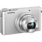 Fujifilm XQ1 - Front Right - Silver