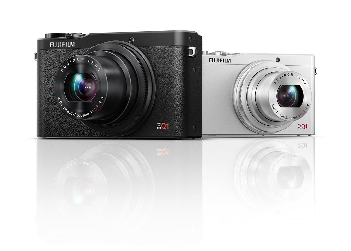 Fujifilm XQ1 Premium Compact Camera In Black & Silver