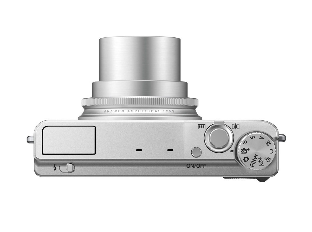 Fujifilm XQ1 - Top - With 4x Fujinon Zoom Lens