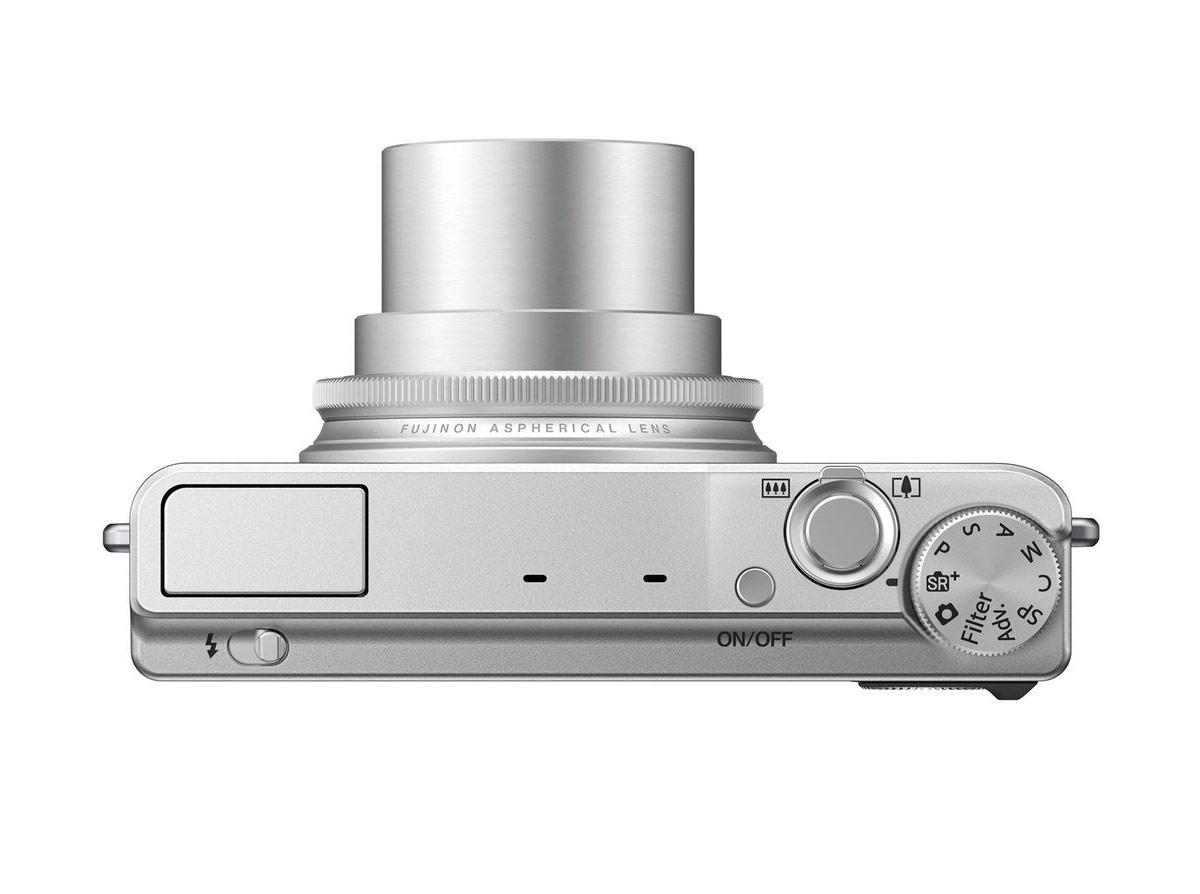 Fujifilm XQ1 - Top - With 4x Fujinon Zoom Lens