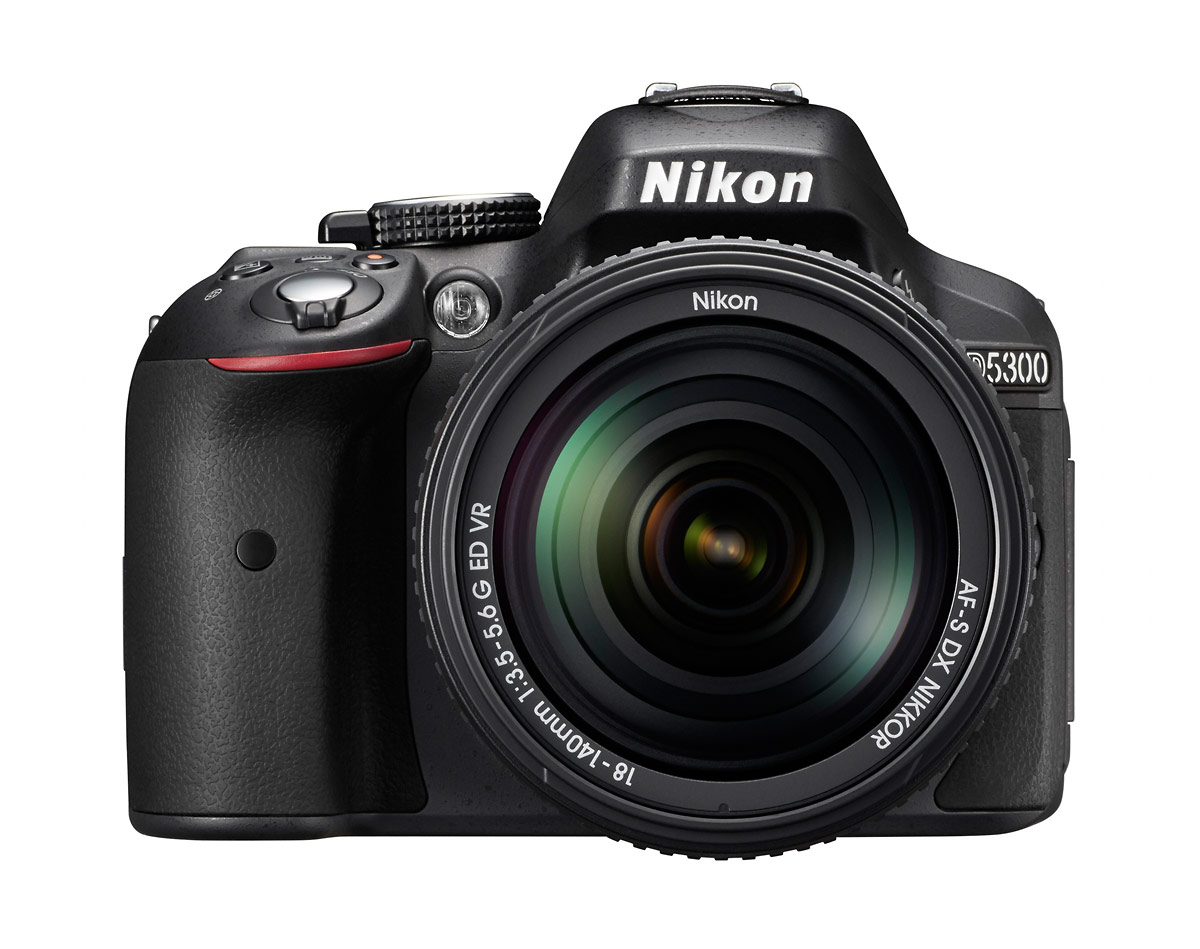 24-MP Nikon D5300 DSLR With 18-140mm VR Zoom