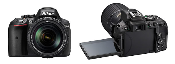Nikon D5300 Digital SLR - Front & Back