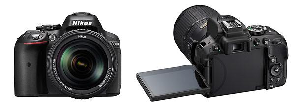 Nikon D5300 Digital SLR - Front & Back