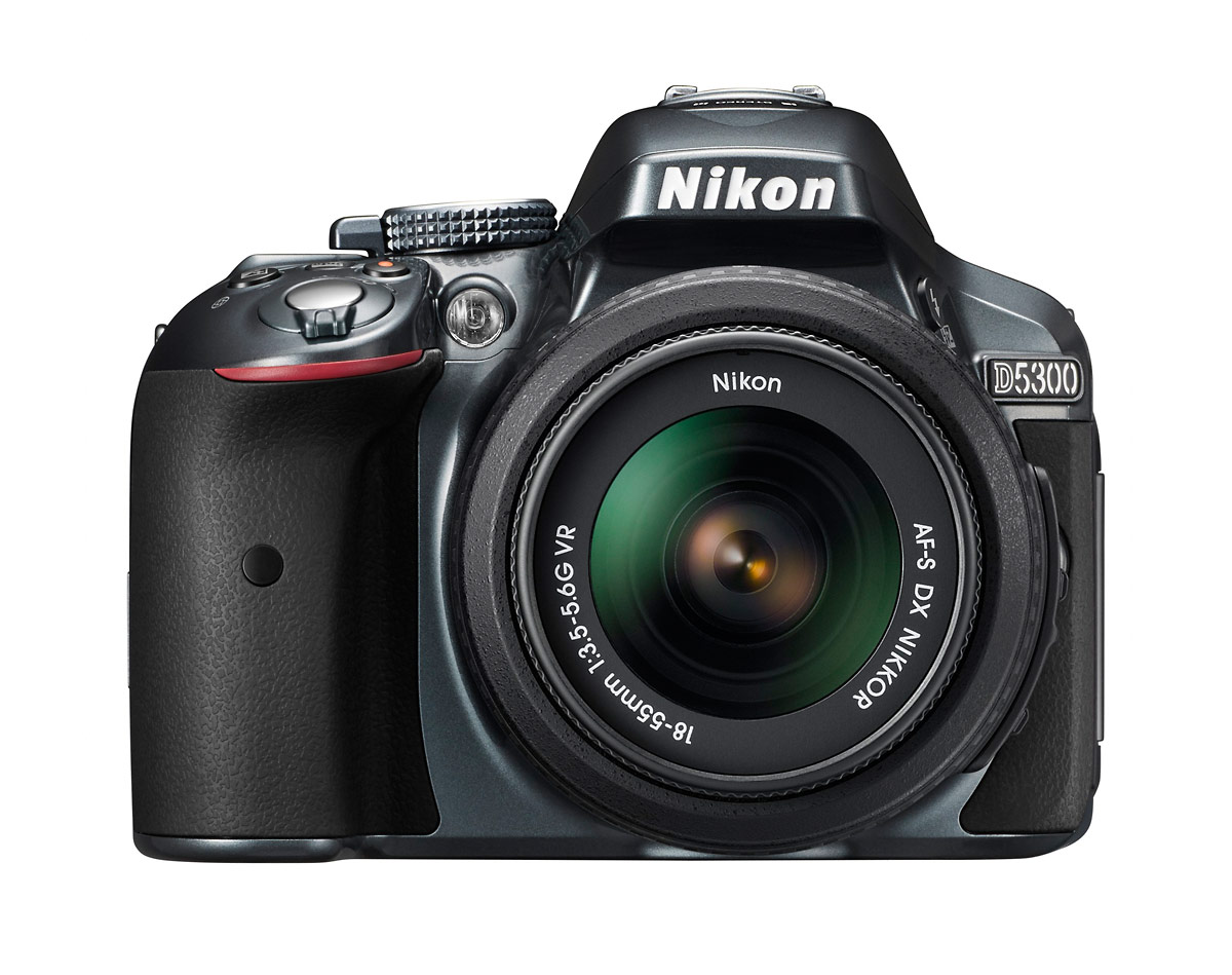 Nikon D5300 DSLR With 18-55mm Kit Lens