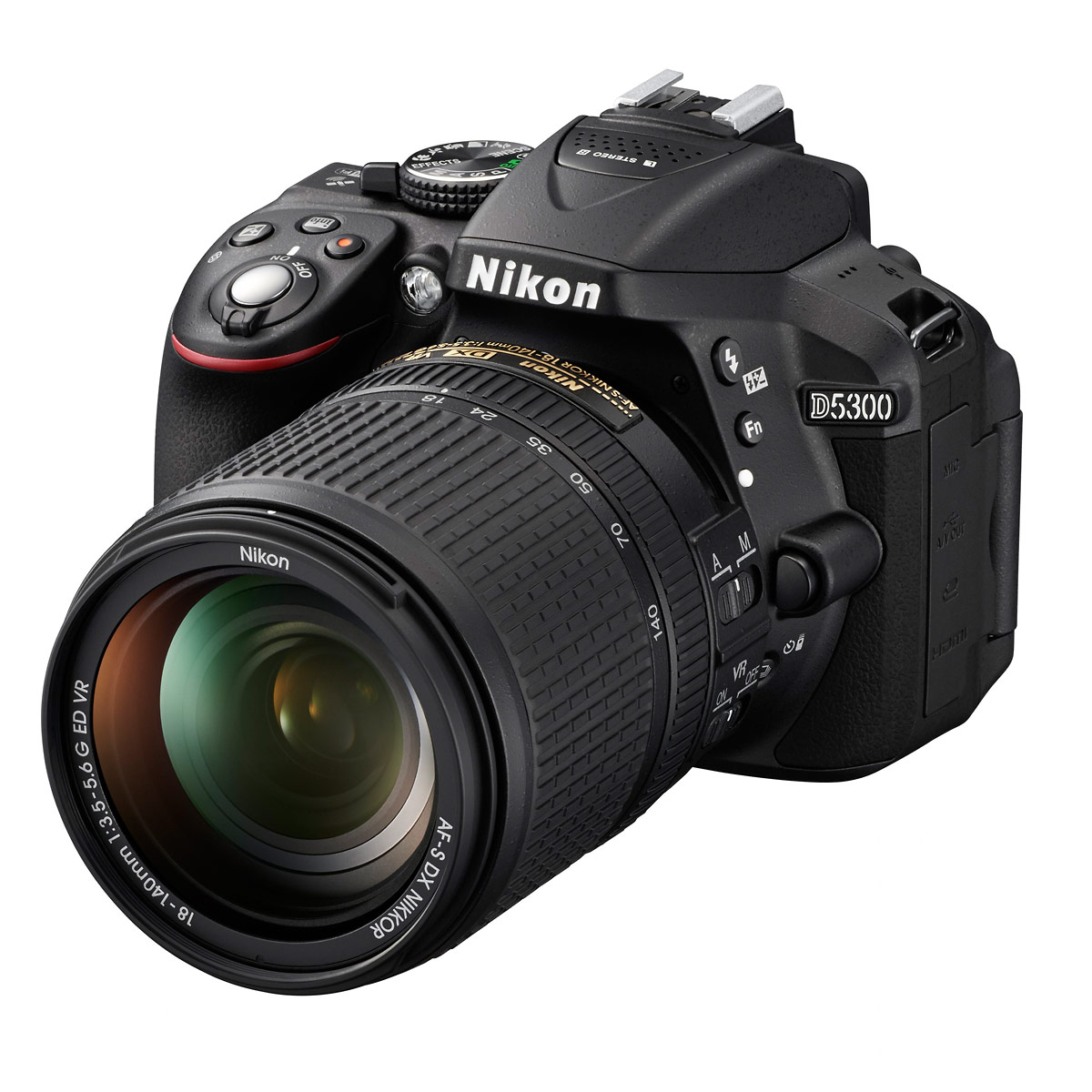 Nikon D5300 DSLR With 18-140mm VR Zoom Lens