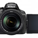 Nikon D5300 DSLR With Adjustable LCD In Selfy Postion