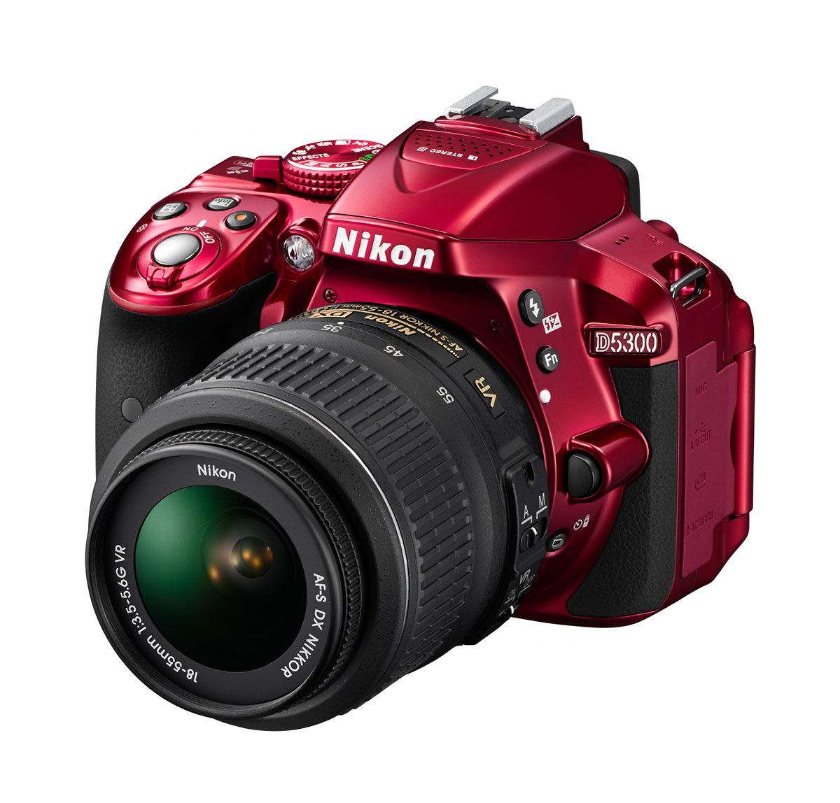 Nikon D5300 24-Megapixel DSLR - Red
