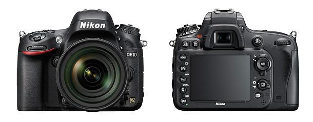 Nikon D610 - Front & Back