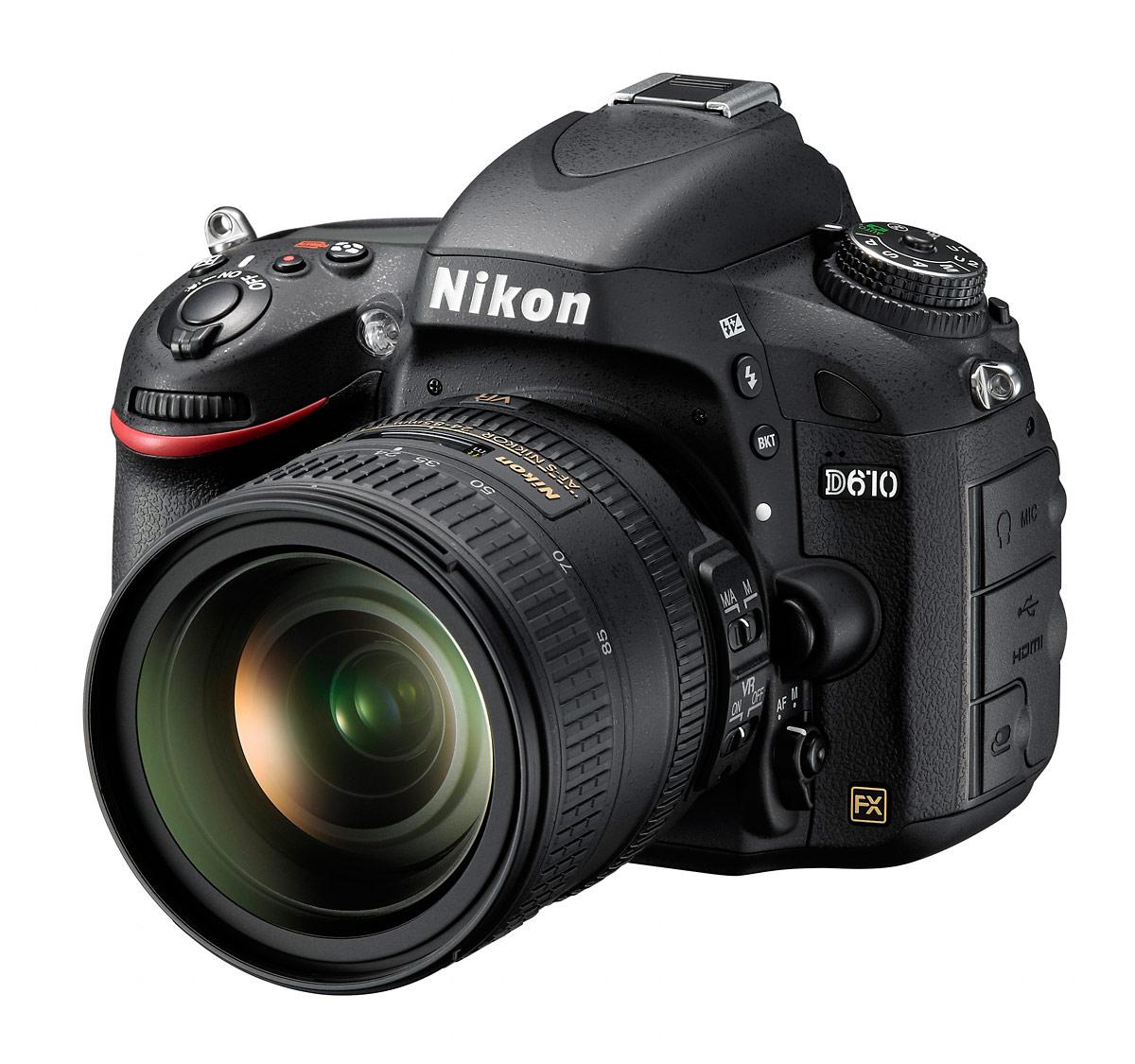 Nikon D610 DSLR - Front Left