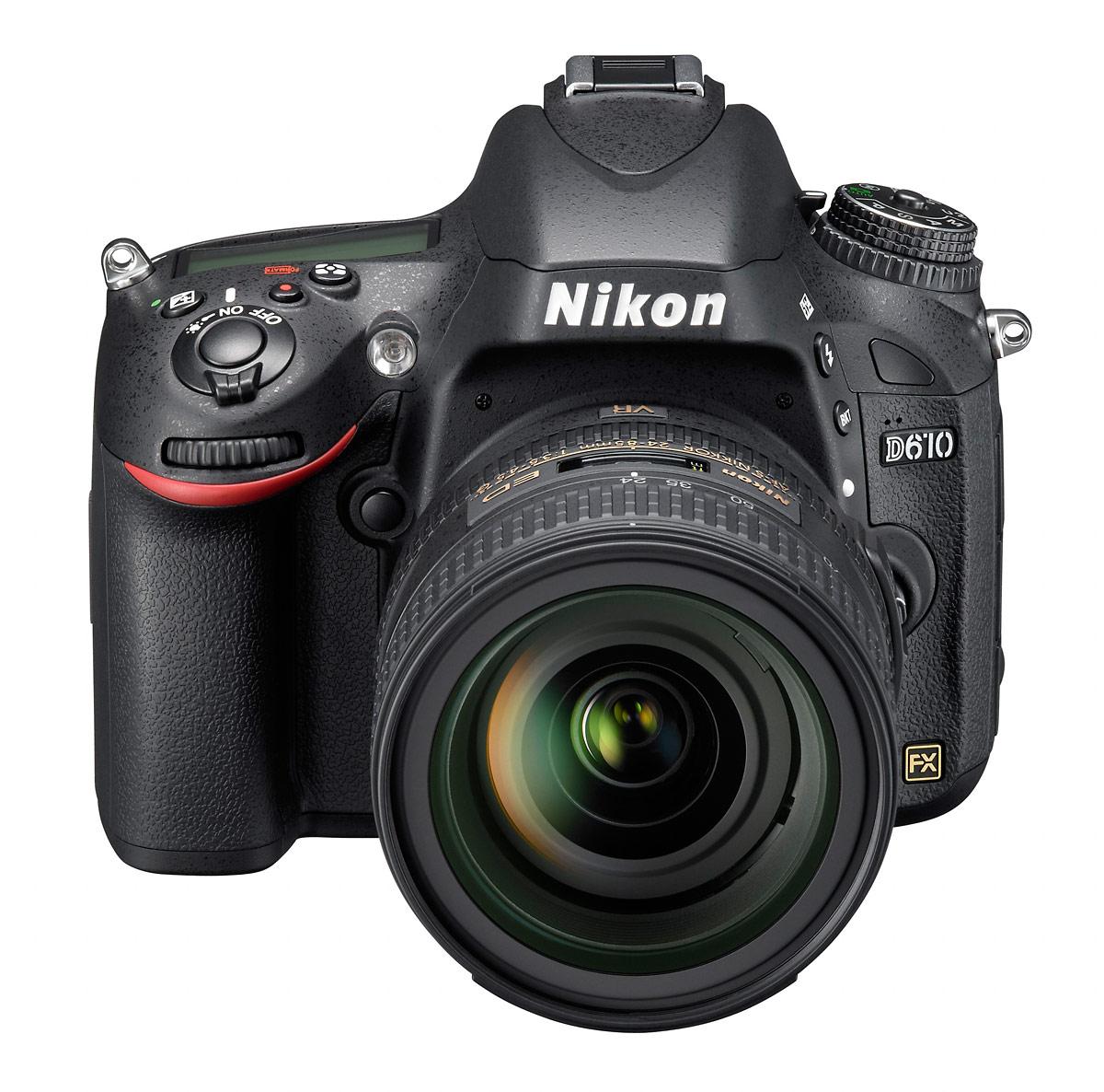 Nikon D610 DSLR - Front