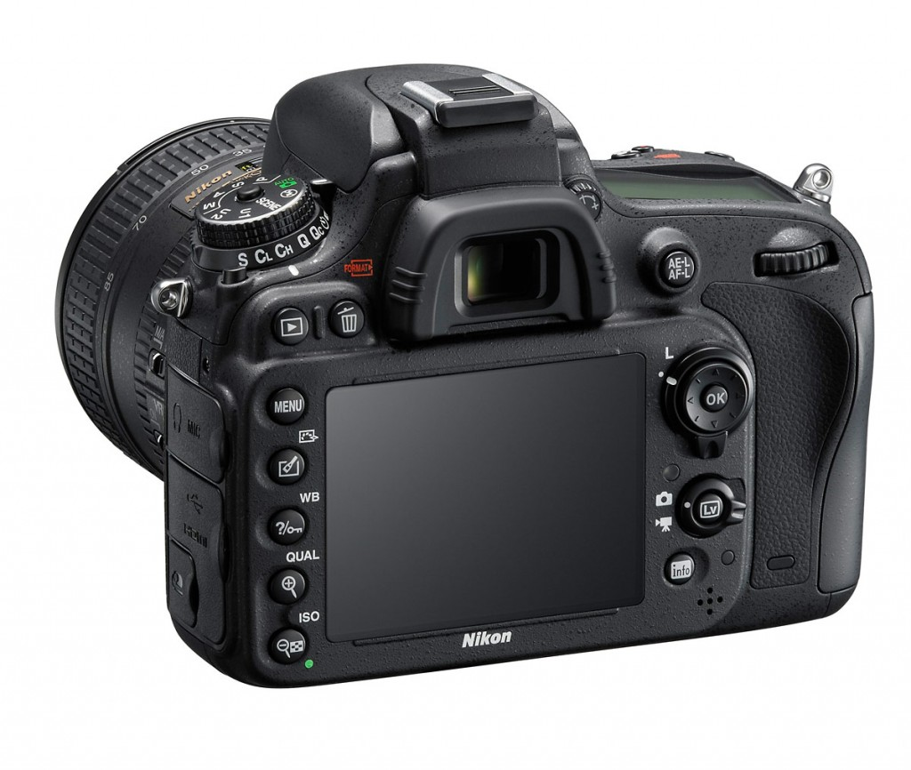 Nikon D610 - Left Rear View