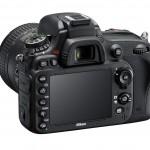 Nikon D610 - Left Rear View