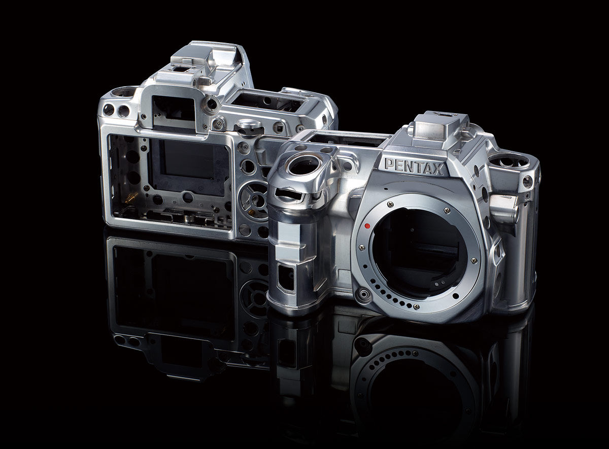 Pentax K-3 DSLR - Magnesium Alloy Chassis