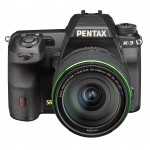 Pentax K-3 DSLR - Upper Front View