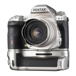 Pentax K-3 DSLR Premium Silver Edition With Battery Grip