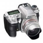 Pentax K-3 DSLR - Premium Silver Edition - Top Right