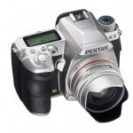 Pentax K-3 DSLR - Premium Silver Edition - Top Right