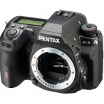 Pentax K-3 DSLR - Upper Right View - No Lens