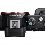 Sony Alpha A7 / A7R Full-Frame Mirrorless Camera - Top View