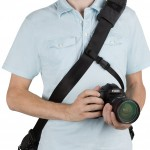 Tenba Messenger DNA Camera Bag - Front With Security Strap