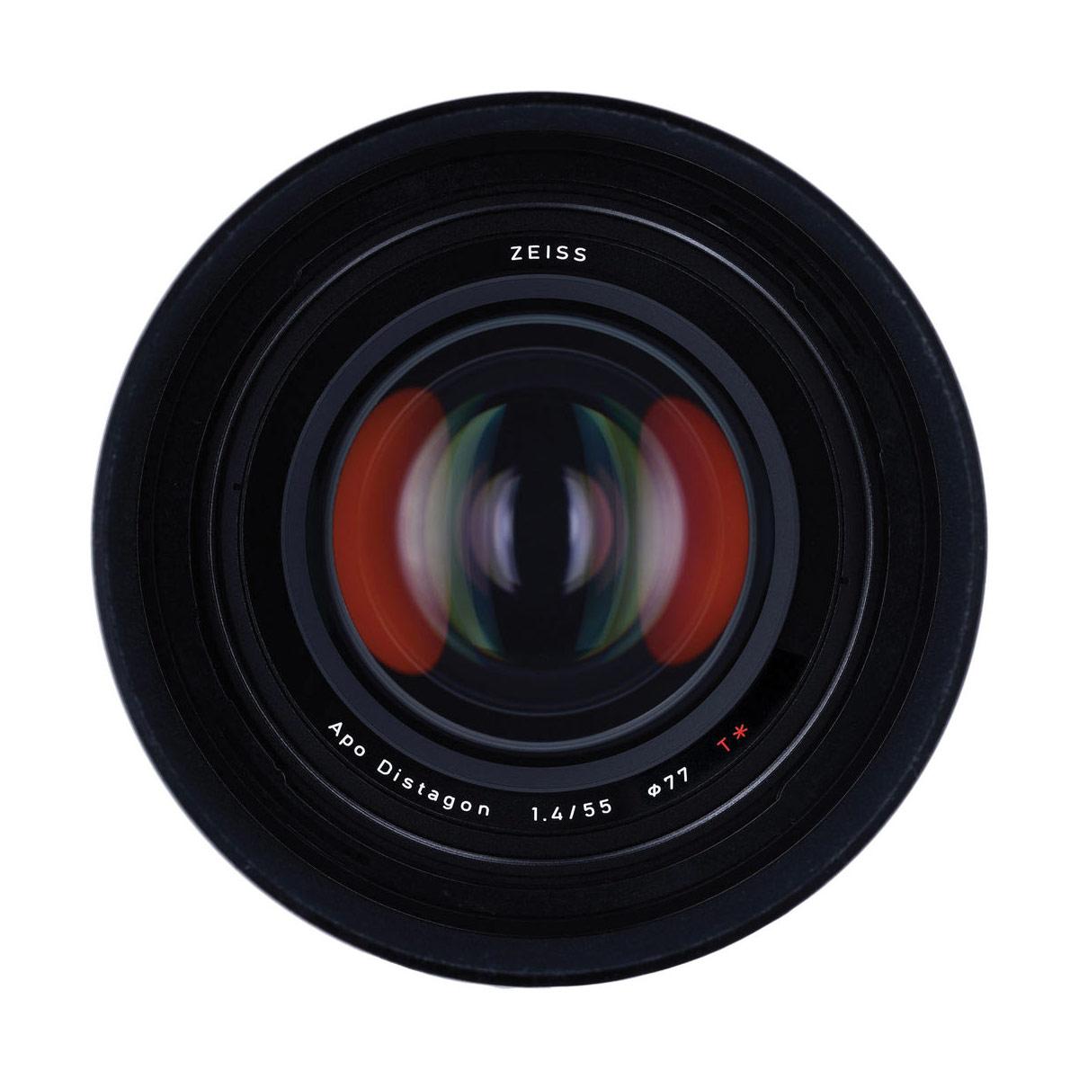 Zeiss Otus 55mm f/1.4 Front Element
