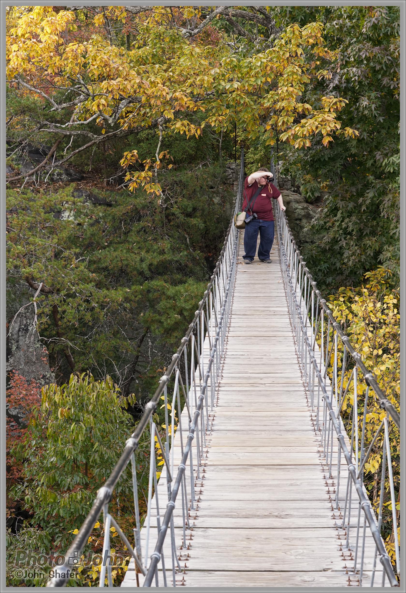 Hanging Bridge - Rock City, Georgia - Sony Alpha A7R